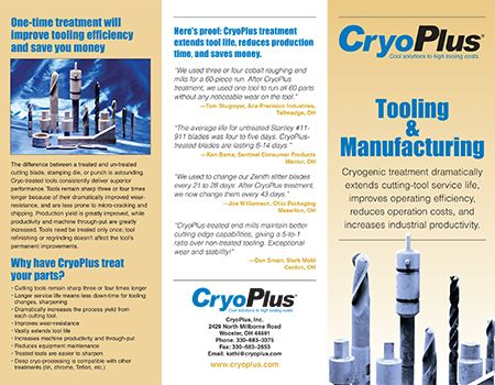 cutting tools brochure
